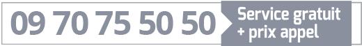 Numéro telephone prise rdv ARM